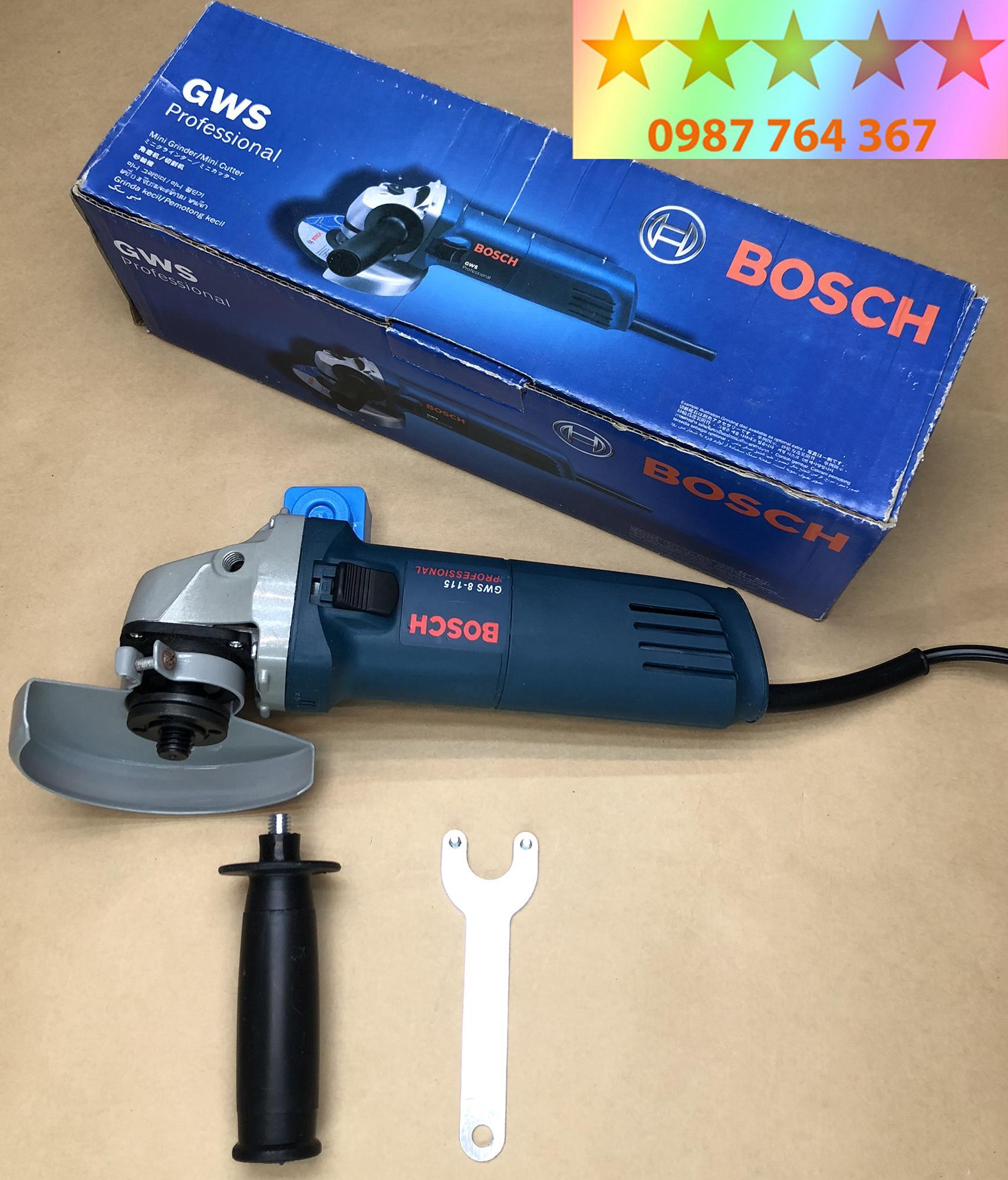 Máy cắt cầm tay Bosch 850W - Made in Malaysia - Tặng 2 lưỡi cắt kim loại + 2 chổi than