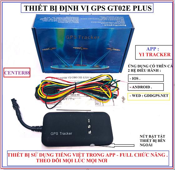 Thiết bị định vị GPS Gt02E