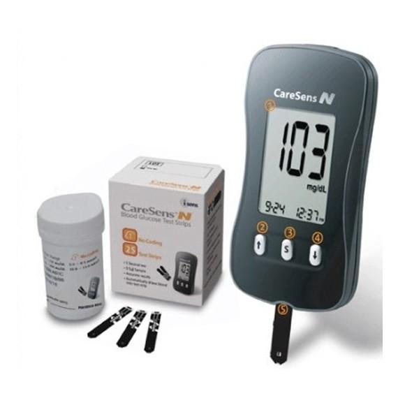 Máy đo đường huyết Caresens N - thương hiệu Hàn Quốc bán chạy