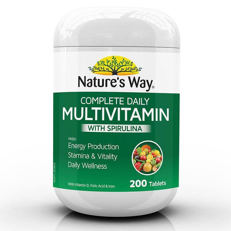 Multivitamin tổng hợp Natures Way 200v- ÚC