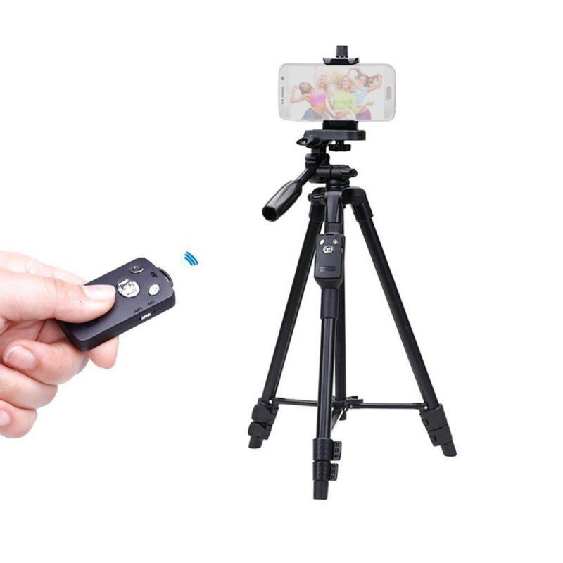 Yunteng VCT 5208  Chân đế Tripod Yunteng 5208 cho điện thoại và máy ảnh