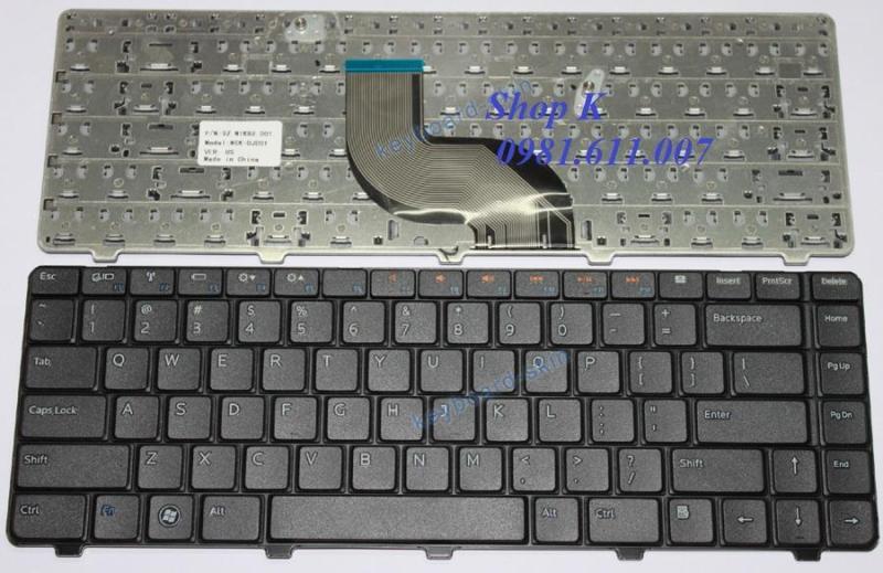 Bàn phím laptop Dell. 14R N4020 N4030 N4010 (Màu Đen)