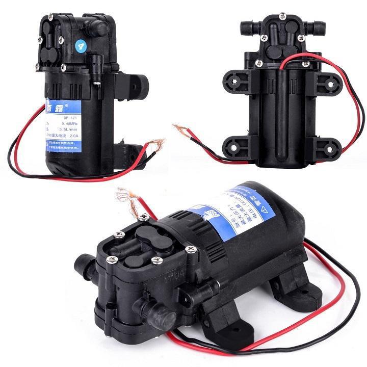 Máy bơm nước mini 12v - Máy bơm áp lực - Máy bơm mini 12v đa năng, Hoạt động ổn định, lắp đặt dễ dàng, bơm tự mồi được xây dựng với công tắc áp suất tự động GIÁ RẺ HỦY DIỆT NGAY HÔM NAY.BB1995