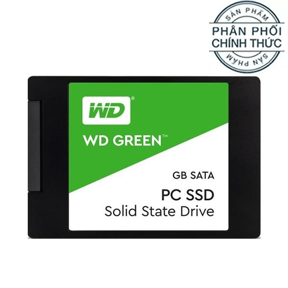 Hình ảnh Ổ cứng SSD Western Digital Green Sata III 120GB (WDS120G2G0A) - Hãng Phân Phối Chính Thức
