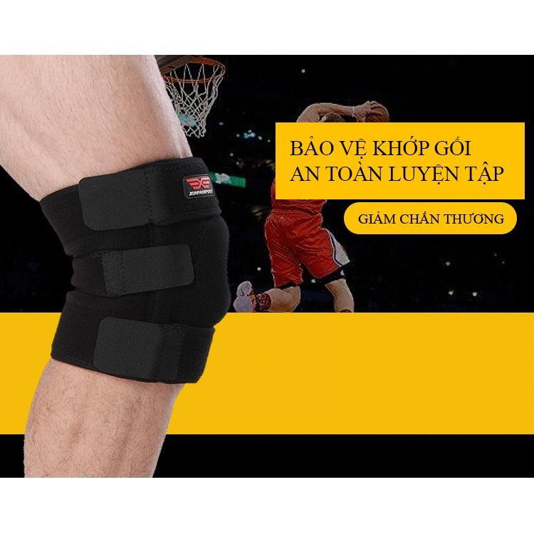 Găng đeo tập gym bảo vệ khớp gối chân