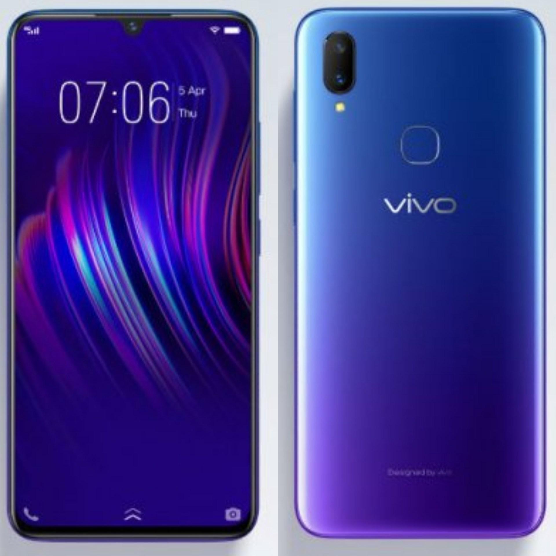 Hình ảnh Điện thoại Vivo V11i - Hàng phân phối chính thức
