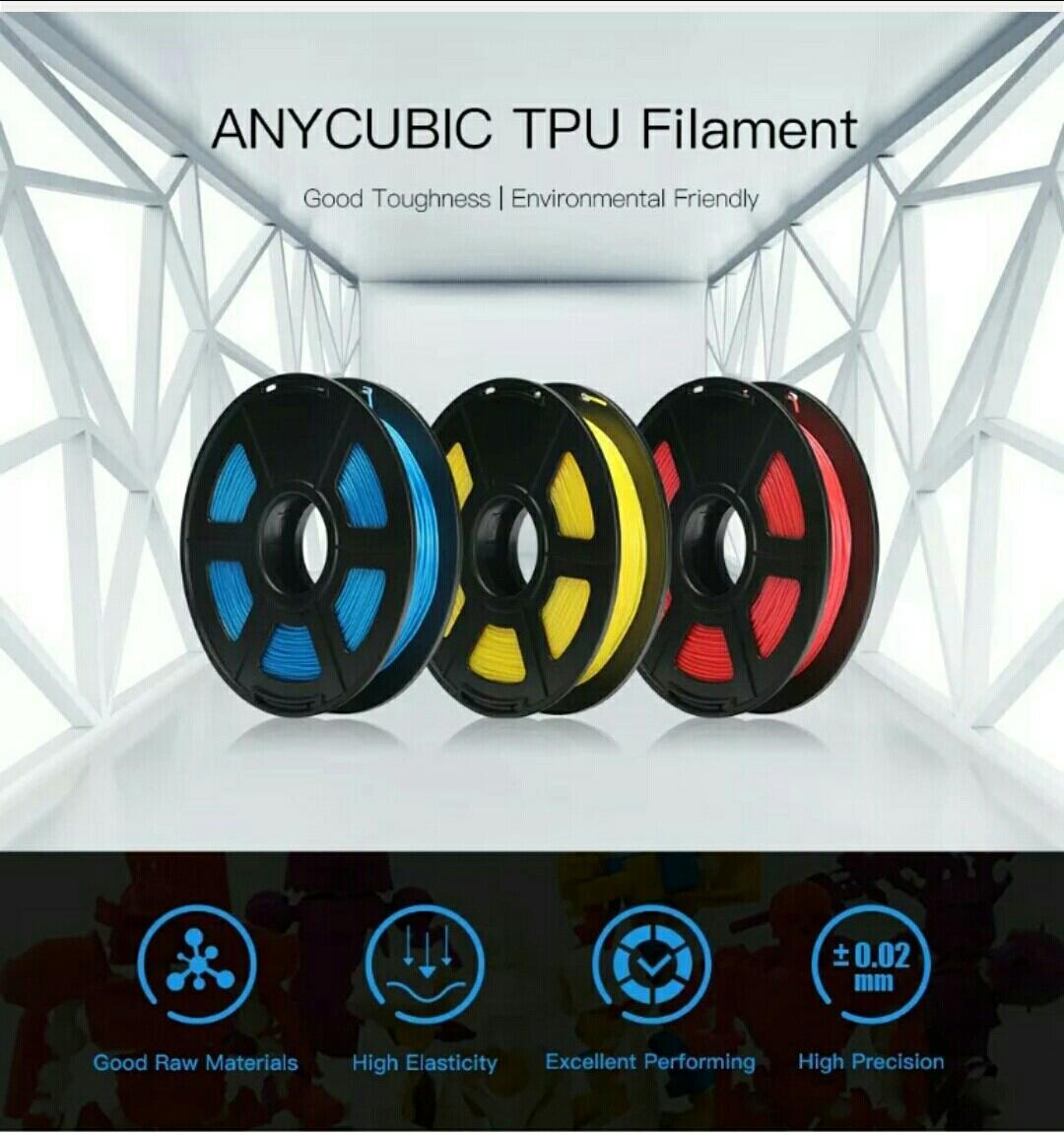 Giá Nhựa in 3D Anycubic TPU Filament ( cuộn 0,5kg)