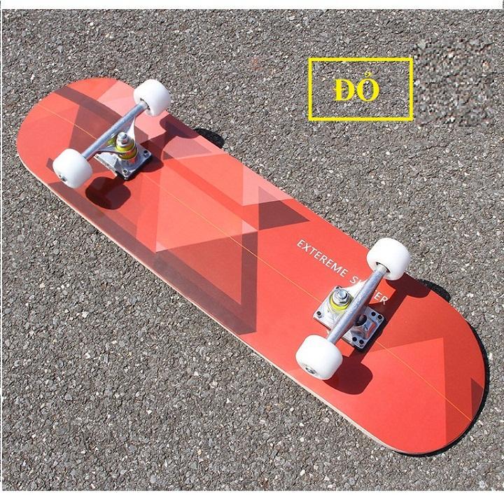 Hình ảnh Ván trượt skateboard thể thao chất liệu gỗ phong ép cao cấp 7 lớp mặt nhám