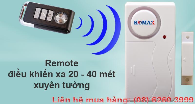 Cảm Biến Từ Báo Động Mở Cửa - Kèm Remote KM-C05