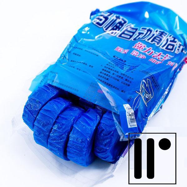 [ GIẢM GIÁ SÂU ] Bộ 10 viên tẩy diệt khuẩn thả bồn cầu (xanh)