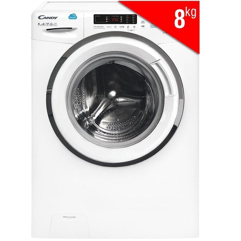 Hình ảnh Máy Giặt Cửa Trước Candy HCS 1282D3Q/1-S (8kg)