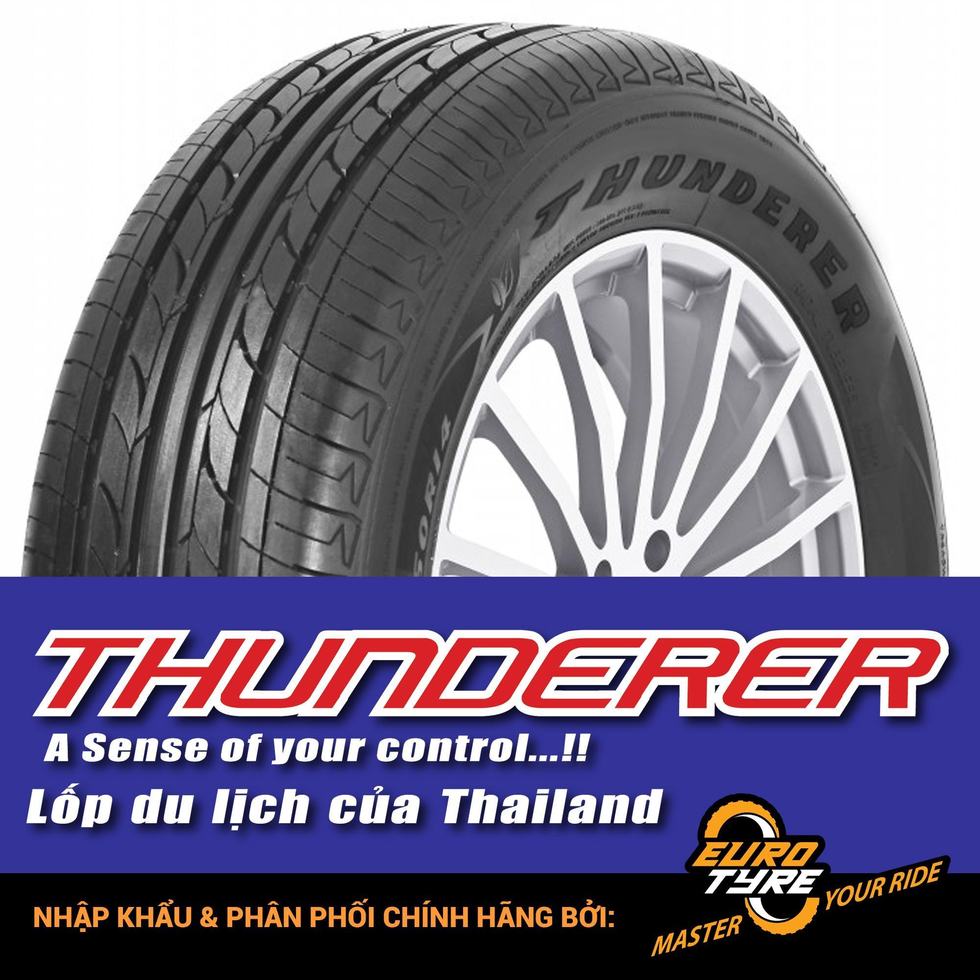 Mua Thay Lốp Vỏ Xe Oto 165 65R14 79T R203 Thunderer Chinh Hang Cho Xe Hyundai Grand I10 Rẻ