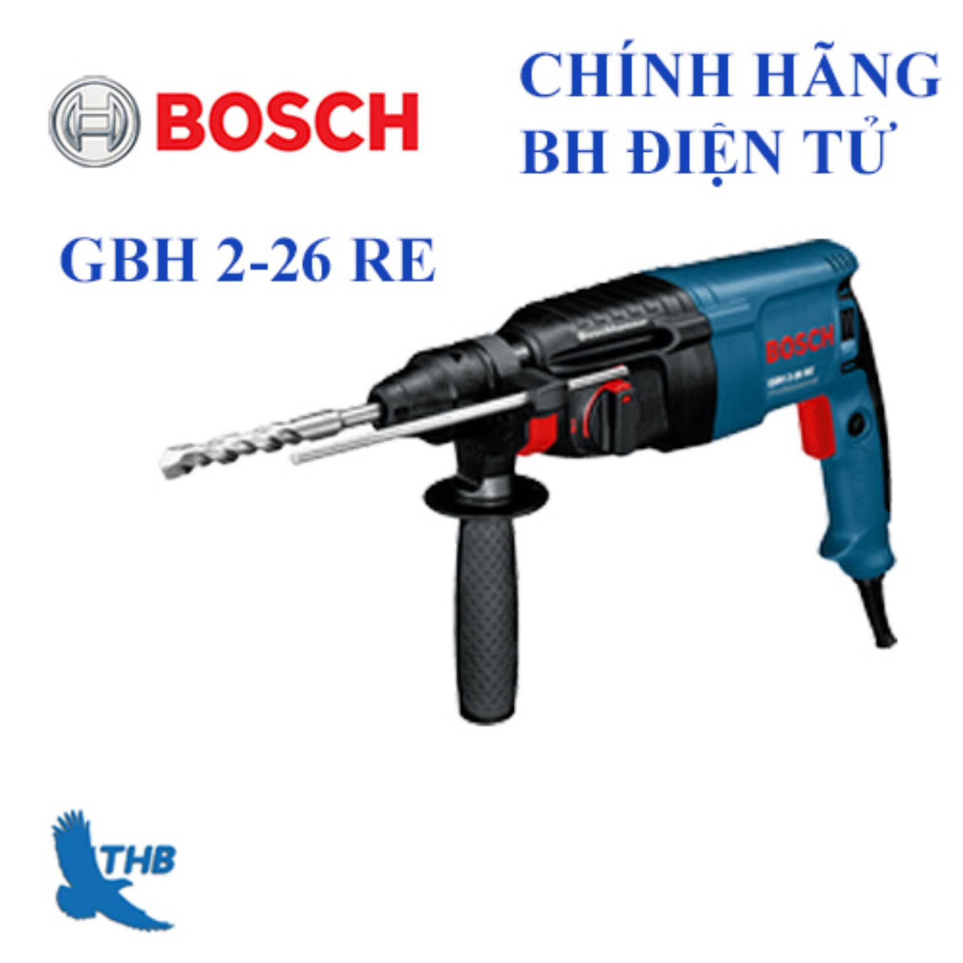 Máy khoan búa Bosch GBH 2-26 RE