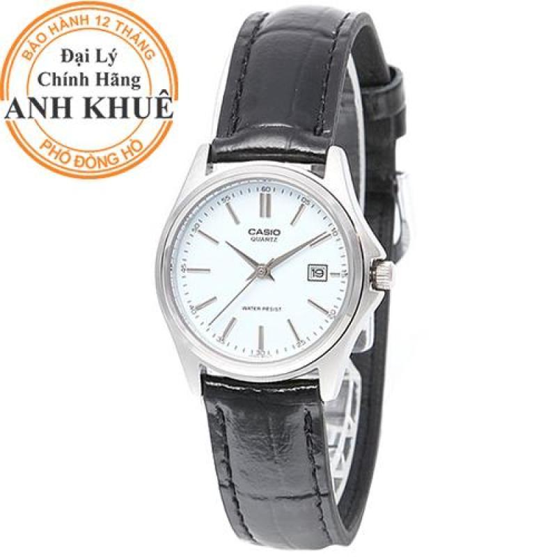 Đồng hồ nữ dây da Casio Anh Khuê LTP-1183E-7ADF