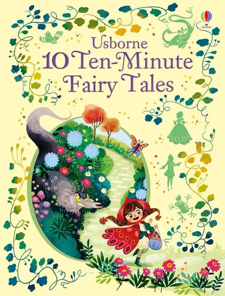 Sách Tiếng Anh Gốc Nhập Khẩu Usborne 10 Ten-Minute Fairy Tales By Sách Thiếu Nhi Mẹ Ong Nâu.