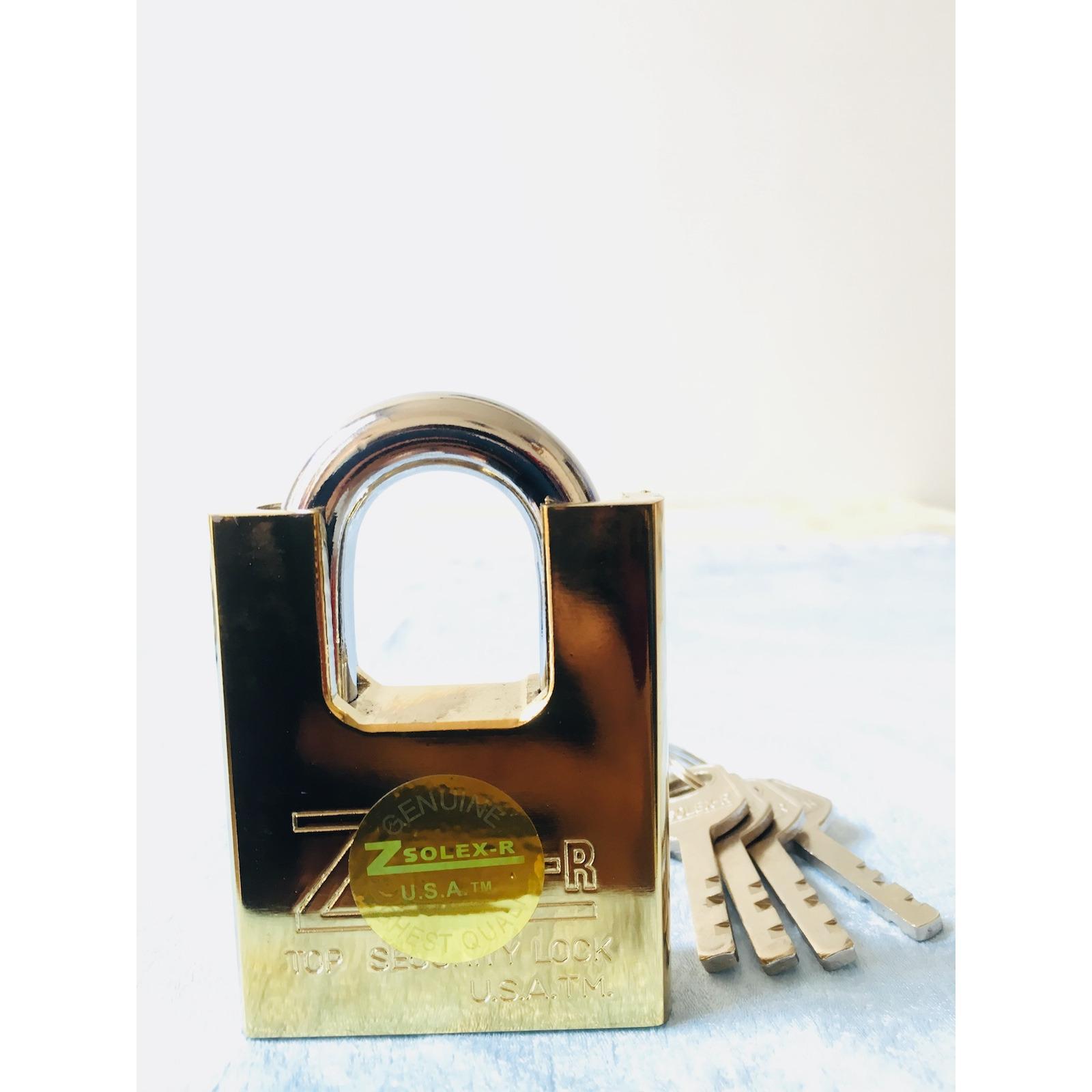 [HCM]Ổ khoá chống trộm loại lớn chống cắt chống sét  công nghệ của Mỹ  làm bằng thép lõi bằng đồng