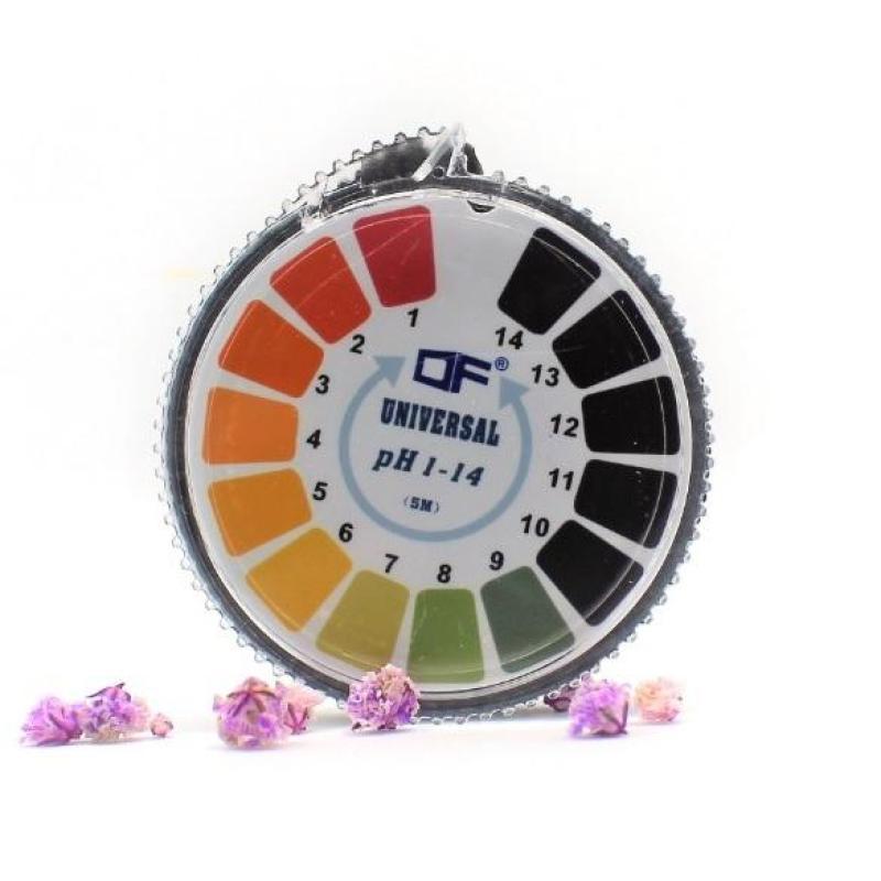 Giấy quỳ tím đo độ pH 1-14 dạng cuộn 5 mét