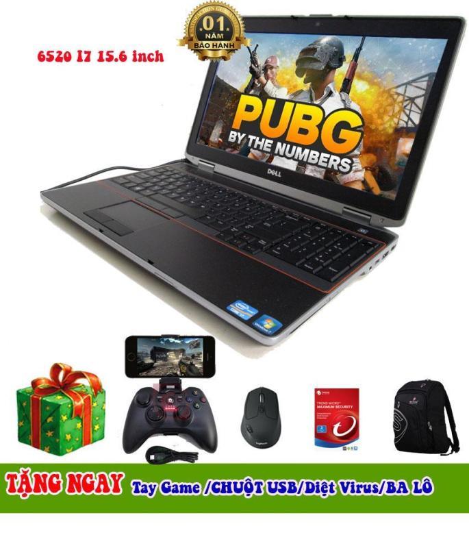 Dell E6520 i7 15.6 inch Ram 4 GB HDD 500GB hàng nhập khẩu mỹ full box zin all tặng kèm tay chơi game