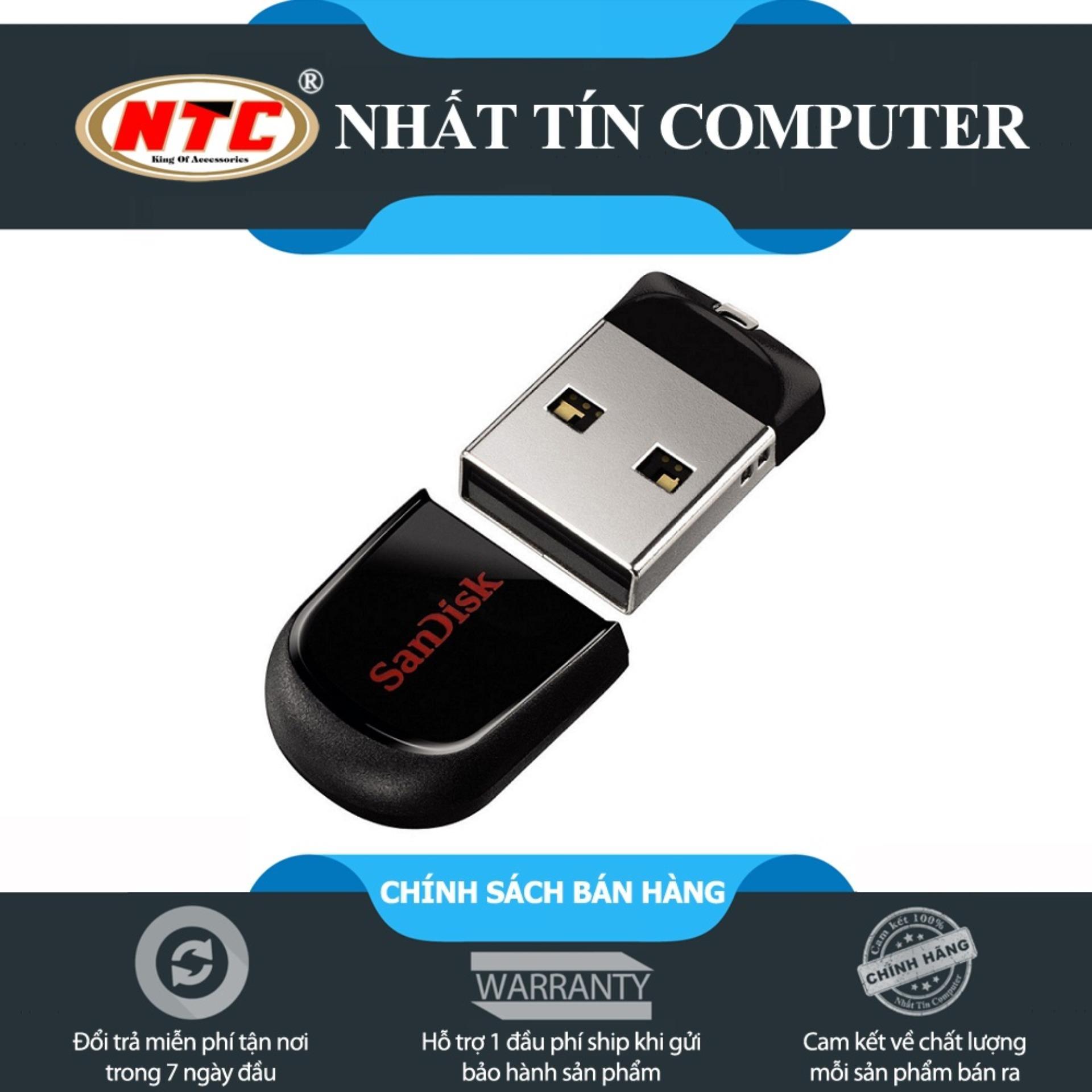 Mua Usb Lu Tr Sandisk Online Gi Tt Flashdisk 16gb Cruzer Fit Cz33 Original En