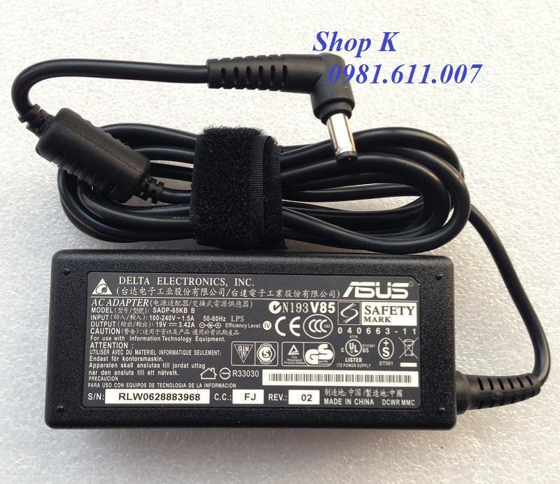Giá Sạc Laptop Asus.X44H X43 X42 (Màu Đen)