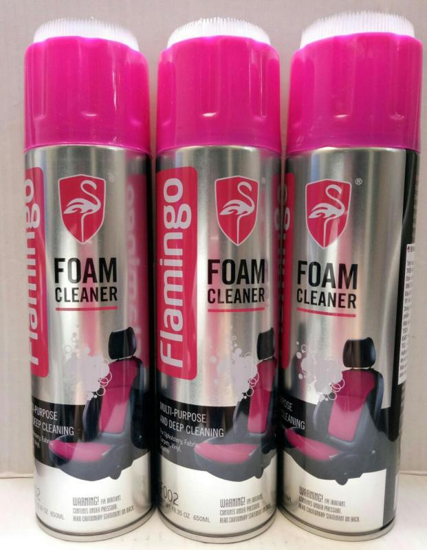 Xịt tẩy vệ sinh nội thất ôtô  Flamingo