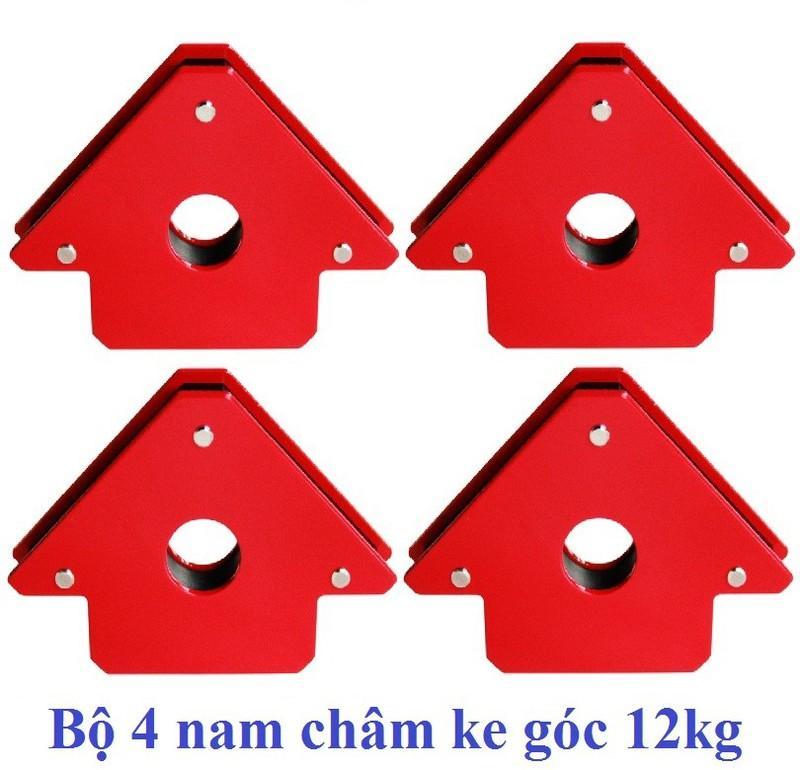 Bộ 4 nam châm ke góc 12kg tiện dụng cho thợ hàn