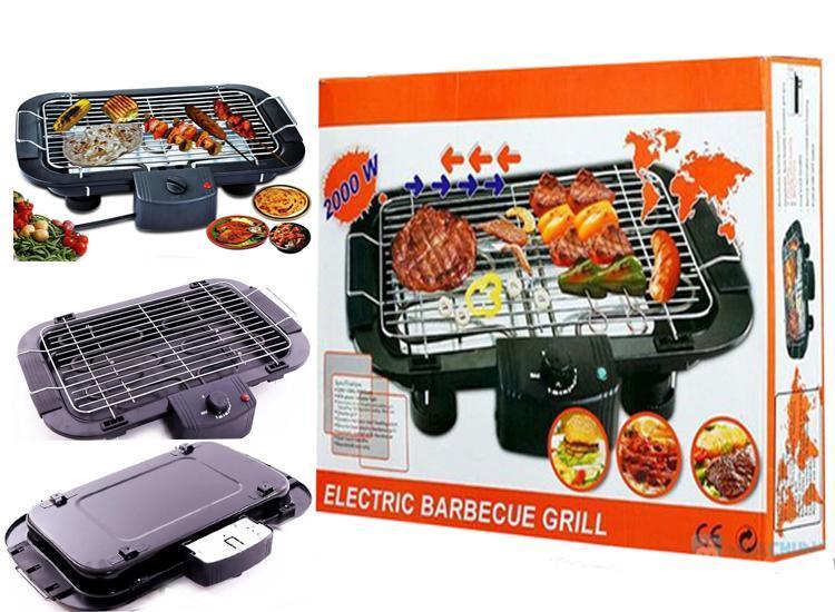 Bếp nướng điện không khói kiểu vỉ nướng 2000W(màu đen) , bảo hành 3 tháng