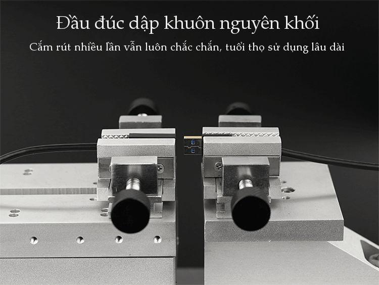 Dây USB 3.0 đực sang đực, hỗ trợ tốc độ truyền tải 5Gbps, dài 0.5-2M UGREEN US128
