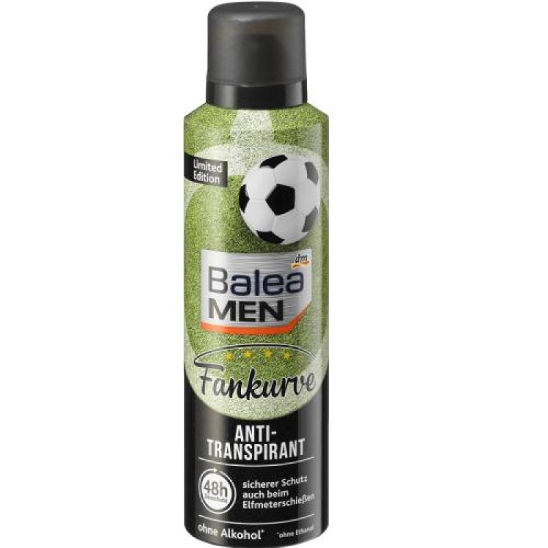 Xịt khử mùi dành cho nam Balea Men Fankurve Anti-transpirant 48h 200ml - Đức tốt nhất