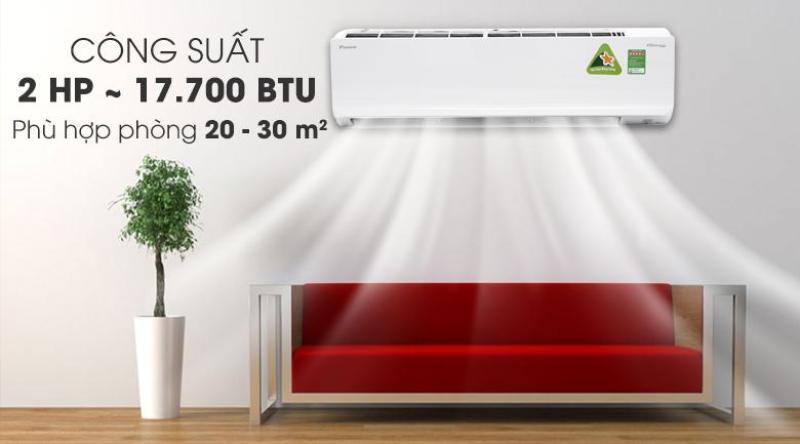 Bảng giá Máy lạnh/Điều hòa Daikin FTKC50TVMV 2HP