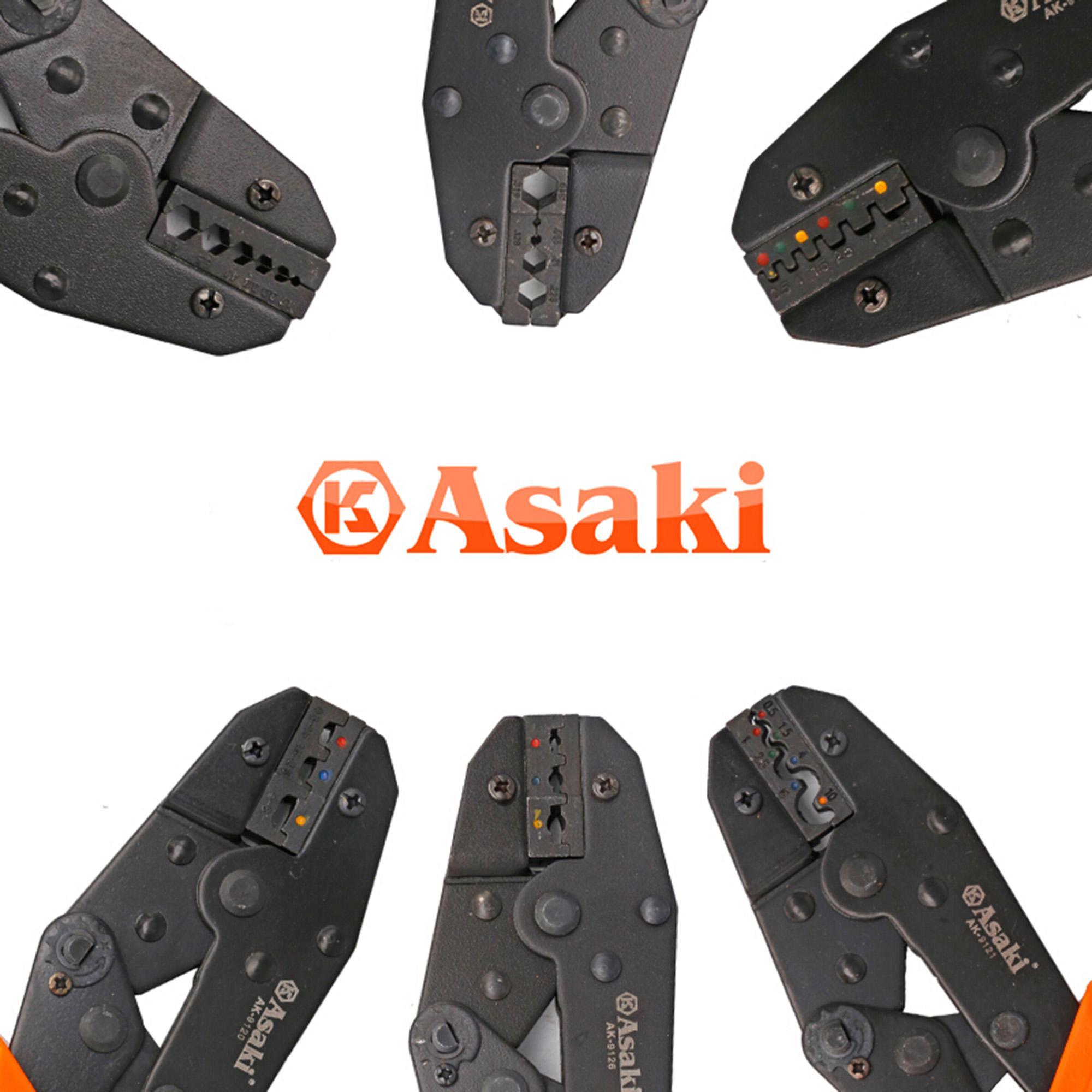 Tổng hợp các loại kìm bấm đầu cosse Asaki