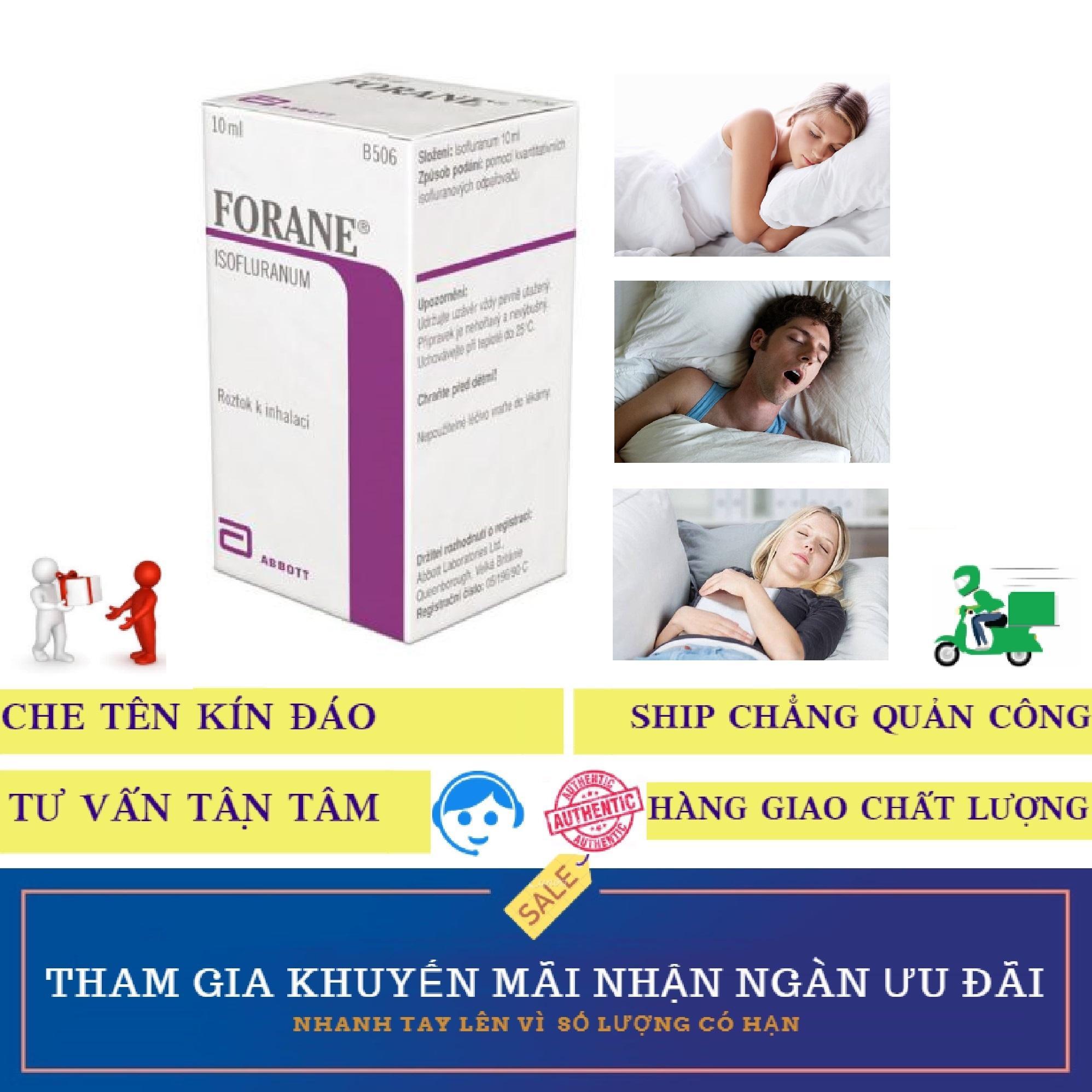 Thuốc chai xịt FORANE hỗ trợ mê giấc ngủ (10ml)