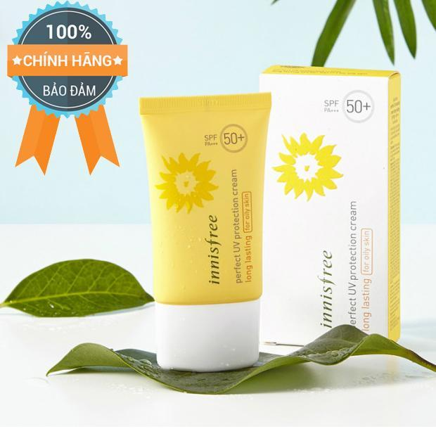 Chống Nắng Innisfree Perfect UV protection cream long lasting for oily skin -Chính Hãng Hàn Quốc.