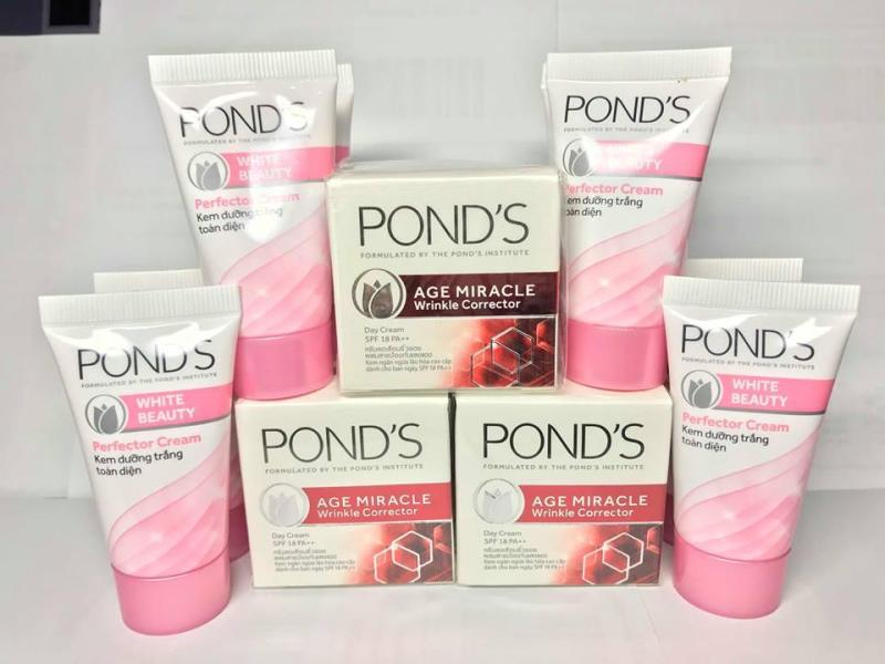 Combo 3 kem pond chống lão hóa + 10 tuýp pond dưỡng trắng nhập khẩu