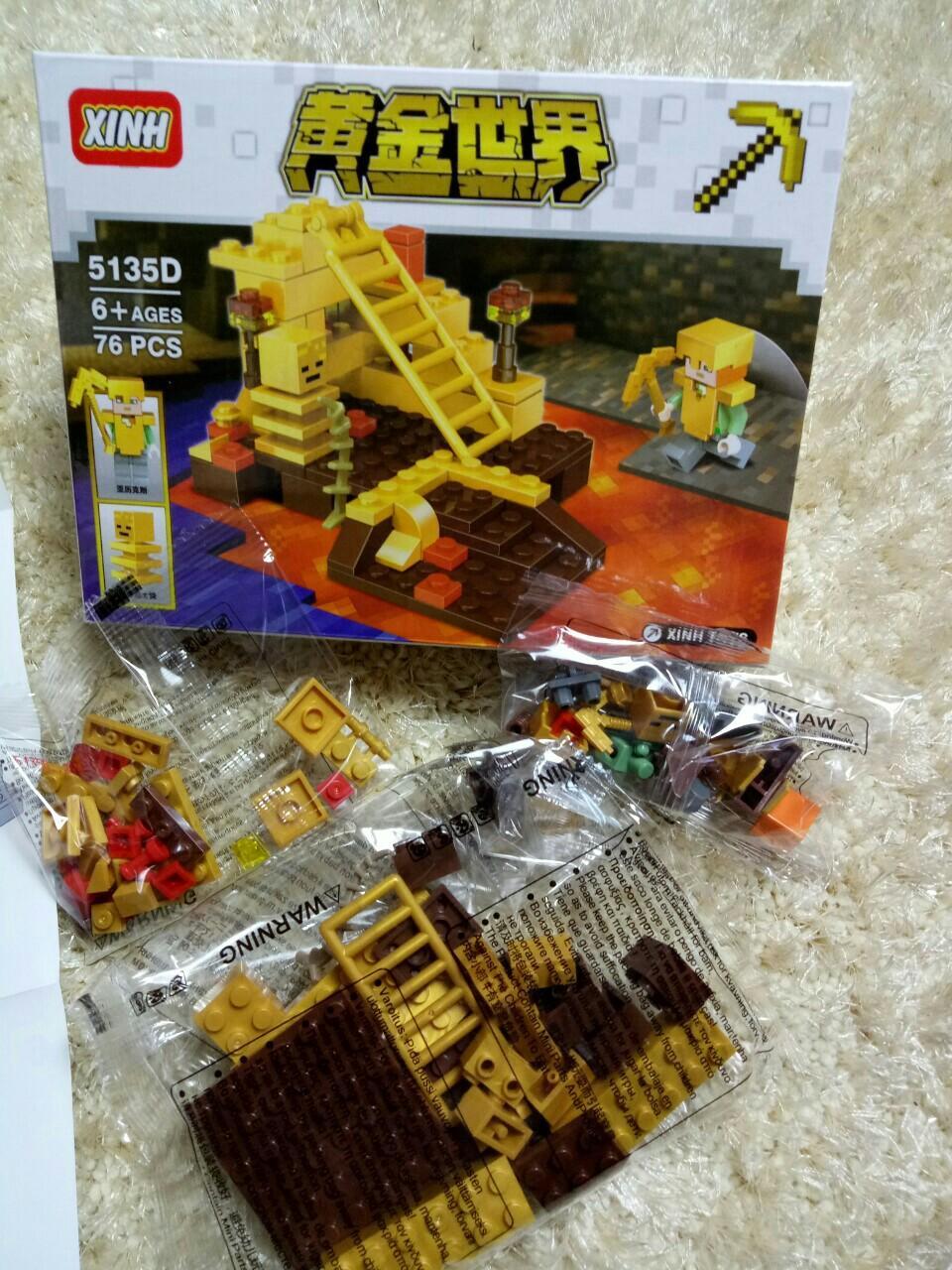 Hình ảnh Bộ xếp hình lego 5135D 76 chi tiết