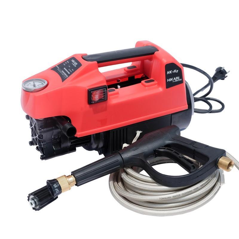 Máy rửa xe áp lực cao HK-H2 Hikari Thái Lan màu đỏ tươi
