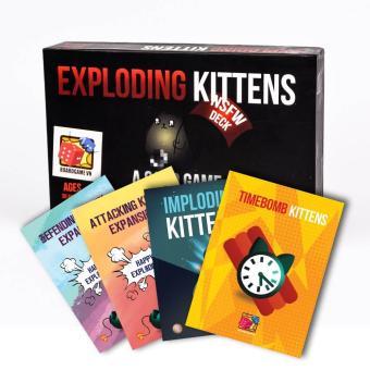 Combo Mèo Nổ Exploding Kittens 4 Bản Mở Rộng