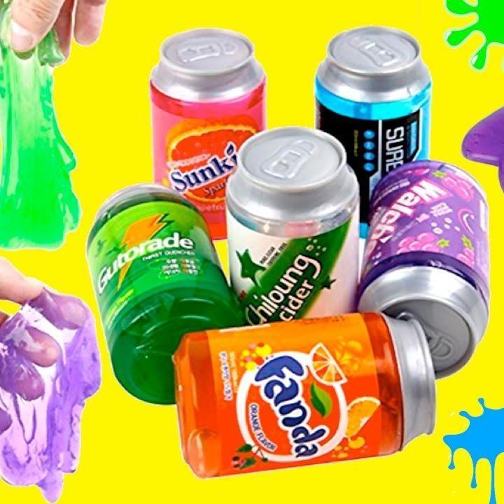 Hình ảnh Slime Chất Dẻo Lon Nước Ngọt - Đồ Chơi Dẻo Trẻ Em An Toàn Thú Vị - Chirita