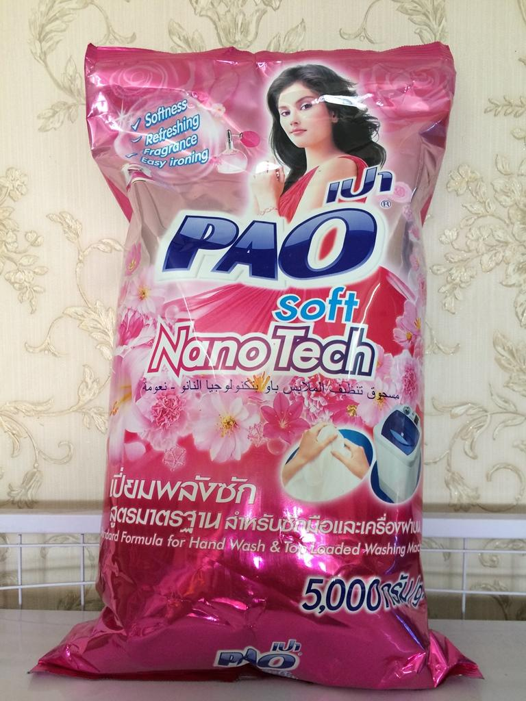 Bột Giặt Pao 5 Kg Thái Lan Giá Tốt Không Nên Bỏ Qua