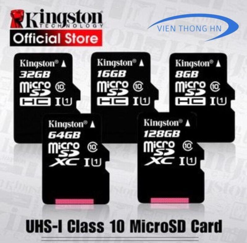 Thẻ nhớ Kingston 16GB 32GB Micro SDHC Class 10 - KÈM ADAPTER