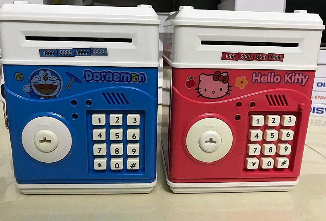 Két sắt mini bảo mật 2 lớp nhân vật hoạt hình