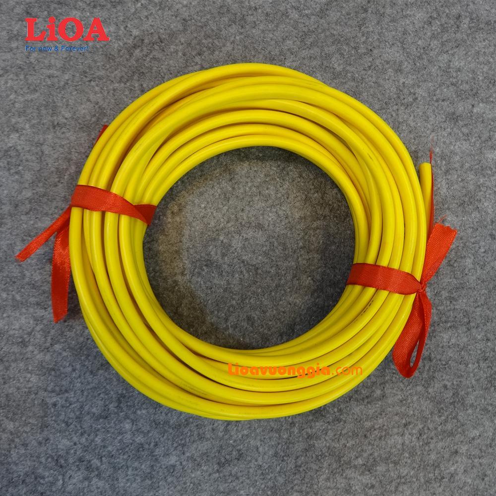 Dây điện đôi dẹt dân dụng Lioa ruột đồng mềm nhiều sợi bọc nhựa PVC. Cỡ ruột 1.5mm2 - Cuộn 30m - VCmo-2x1.5R5VA30