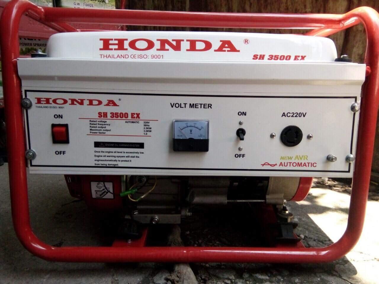Máy phát điện Honda SH3500 chạy xăng, giật nổ