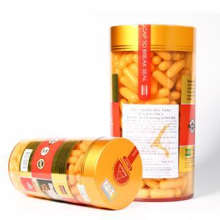 Sữa ong chúa úc Royal Jelly 1610mg 6% 10 HDA Úc (365 viên) thumbnail