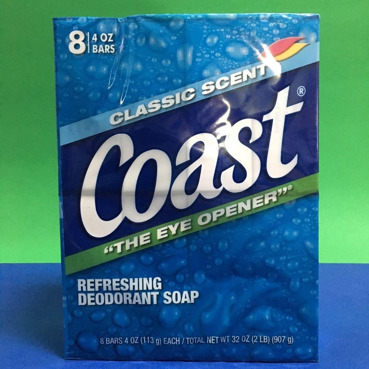 Lốc Xà Phòng Coast Classic Scent Refreshing Deodorant Soap