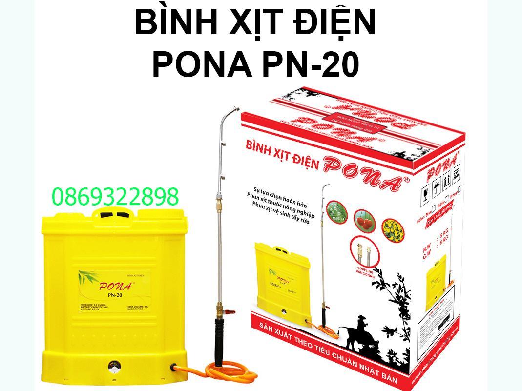 Bình xịt điện Pona PN-20