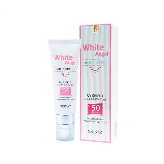 Kem chống nắng cao cấp White Angel Sun Sherbet Skinaz Hàn Quốc - SPF 50 +, PA +++ nhập khẩu