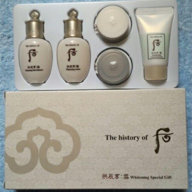 Hình ảnh Set Dưỡng Trắng Da Và Trị Nám 5 Món - Whoo Seol Radiant White Special Gift Set (HÀNG CÔNG TY)
