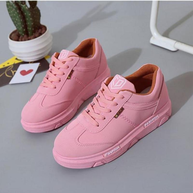 Giày thể thao nữ Fashion màu hồng