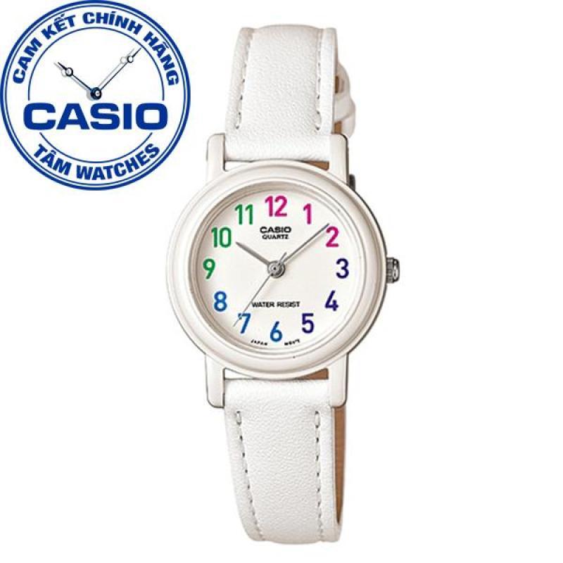 Đồng hồ nữ dây da Casio Standard Anh Khuê LQ-139L-7BDF